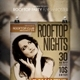 Rooftop Party Flyer / Poster - GraphicRiver Item for Sale