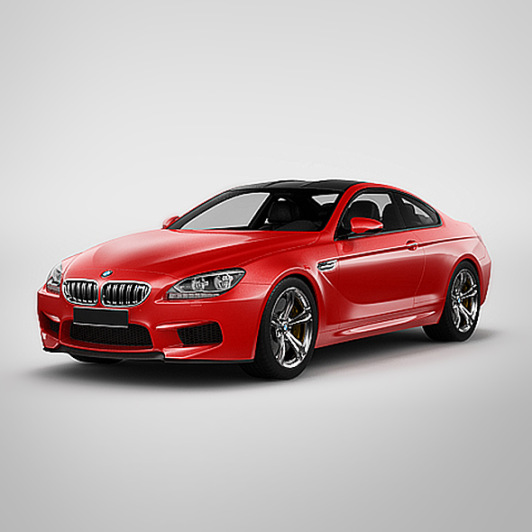 3DOcean BMW M6 Coupe 2013 20877027
