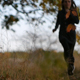 Running Girl in the Autumn Forest - VideoHive Item for Sale