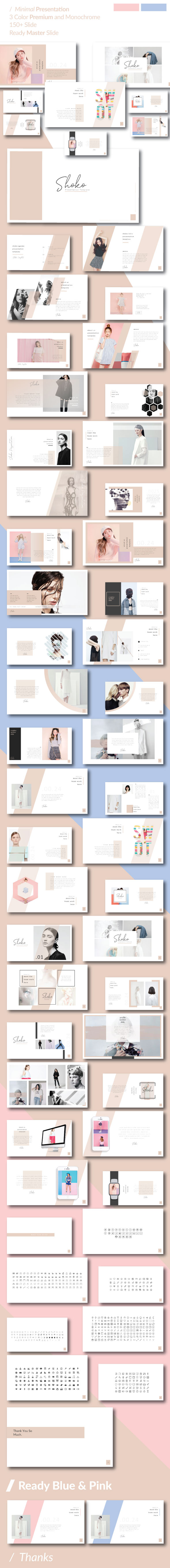 Shoko Minimal Google Slide Template - Google Slides Presentation Templates