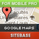 Google Maps for Mobile Site PRO - CodeCanyon Item for Sale