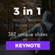 3 in 1 Multipurpose Keynote Template Bundle (Vol.02) - GraphicRiver Item for Sale