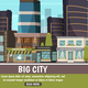 Big City Urban Landscape