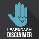 LearnDash Disclaimer