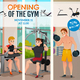 Gym Opening Poster