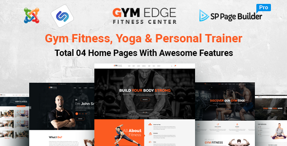 ThemeForest GymEdge Gym Fitness & Yoga Joomla Template 20878323