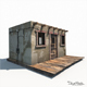 Western Jail Low Poly - 3DOcean Item for Sale