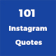 101 Instagram Quotes - GraphicRiver Item for Sale