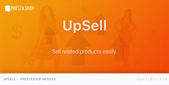 UpSell - PrestaShop Module - CodeCanyon Item for Sale