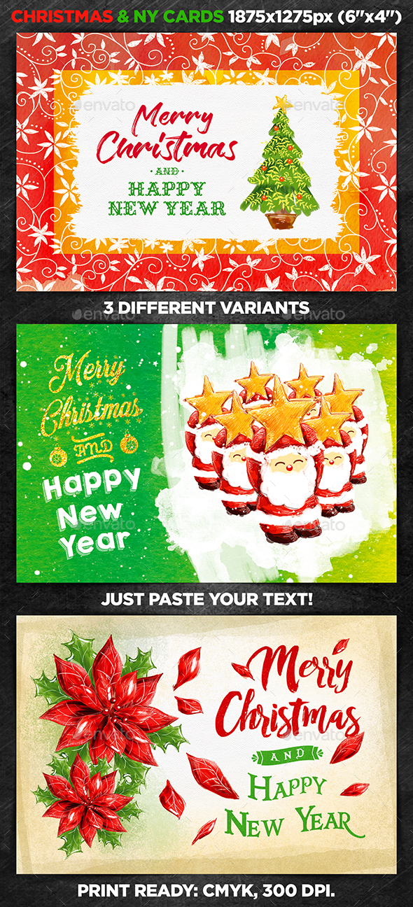 Christmas & New Year Cards vol.1 - Christmas Greeting Cards