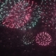 Firework - Concept of Finale of Any Holiday: Chinese New Year, New Year, Christmas, Wedding