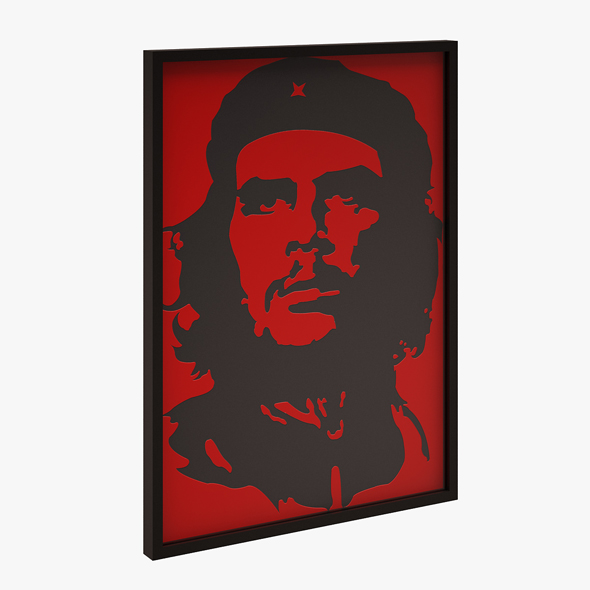 3DOcean Che Guevara Wall Picture 20879880