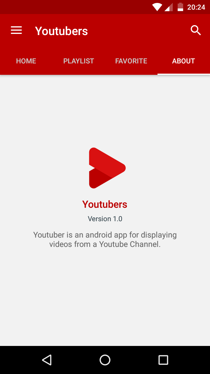Youtubers - Android Youtube Channel 1 3 1