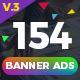Banner Ads Ultimate Bundle V4 - GraphicRiver Item for Sale