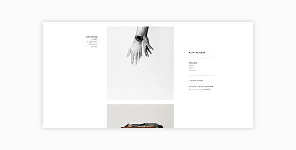 Image of Kathy - Minimal Photography and Portfolio WordPress Theme