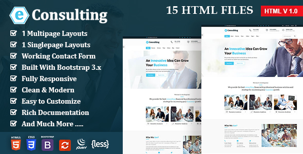 ThemeForest Consulting Finance Corporate Business e Consulting 20880395
