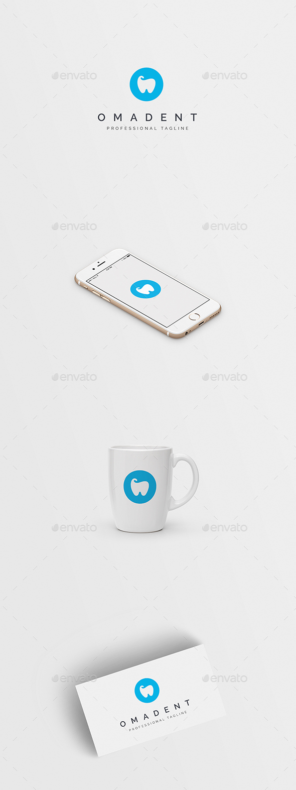 GraphicRiver Omadent Dental Logo 20872332