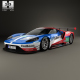 Ford GT Le Mans Race Car 2016
