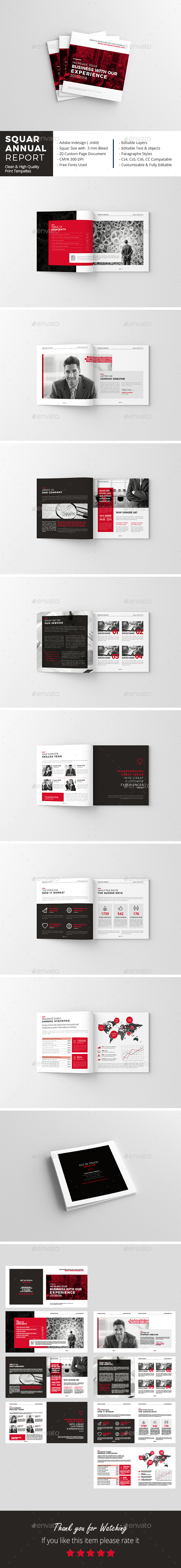 Squar Annual Report 16 Pages - Corporate Brochures