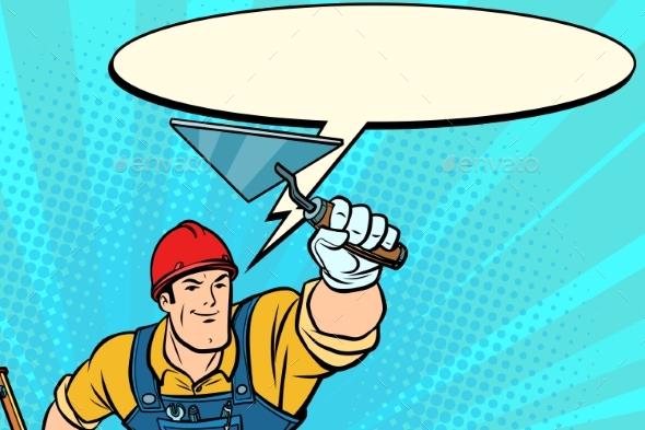 Superhero Builder Professional Comic Bubble