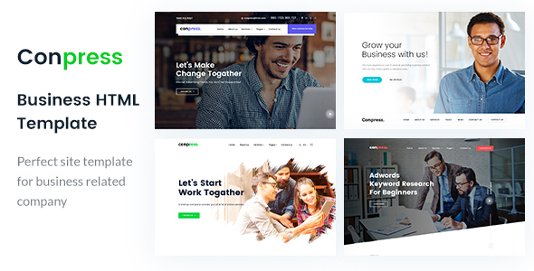Conpress- Digital Marketing HTML Template - Marketing Corporate