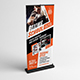 Boxing School Roll-Up Banner