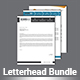 Letterhead Bundle - GraphicRiver Item for Sale