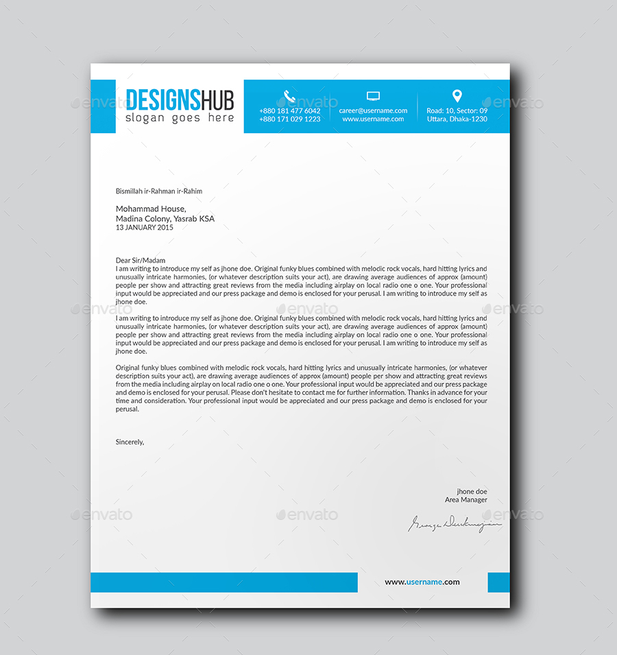 letterhead bundle by researchstudio graphicriver