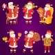Christmas Santa Claus Vector Illustration - GraphicRiver Item for Sale