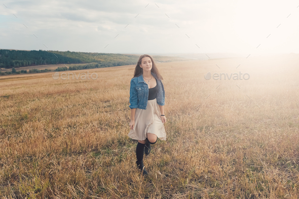 Young and handsome girl - Stock Photo - Images