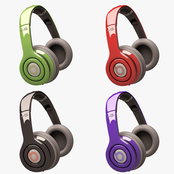 3DOcean Beats Solo HD Headphone Set 20881698