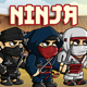 Ninja 2D Game Character Sprite Sheet