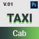 TAXI Cab PSD Template - ThemeForest Item for Sale