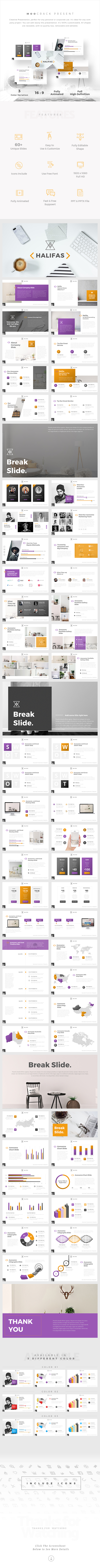 GraphicRiver Halifas Creative Powerpoint Template 20881998