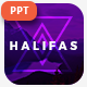 Halifas Creative Powerpoint Template - GraphicRiver Item for Sale