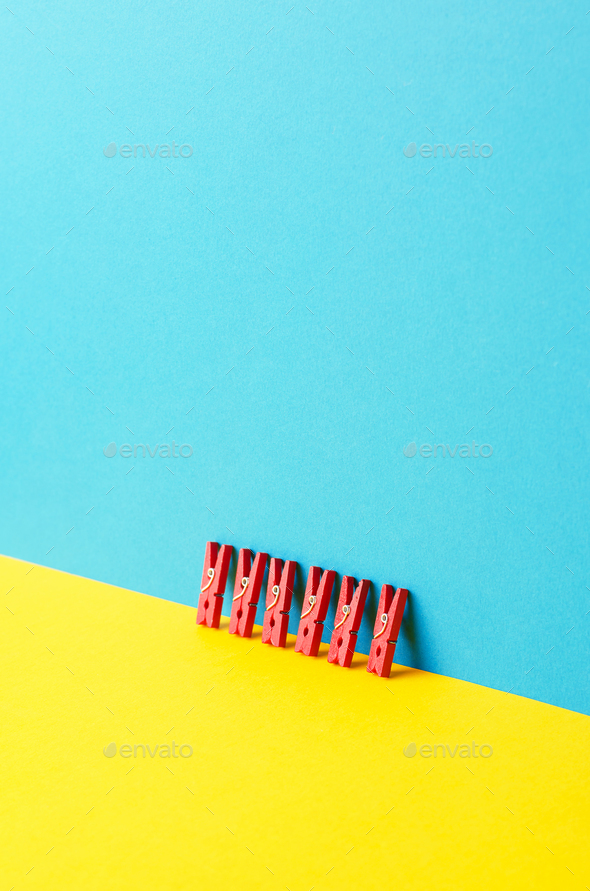Laundry Clips - Stock Photo - Images