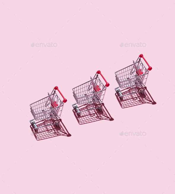 Shopping Carts - Stock Photo - Images