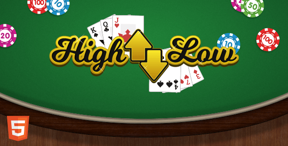 High Low - HTML5 Casino Game - CodeCanyon Item for Sale