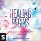 Healing Begins CD Album Artwork