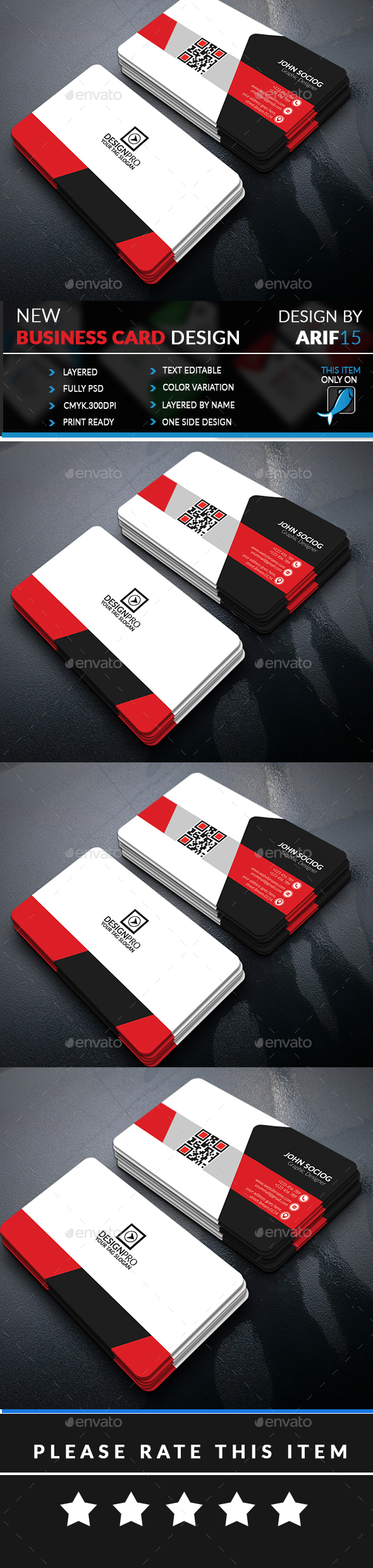GraphicRiver Creative Business Card 20882499