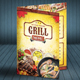 Grill Menu (A4) - GraphicRiver Item for Sale
