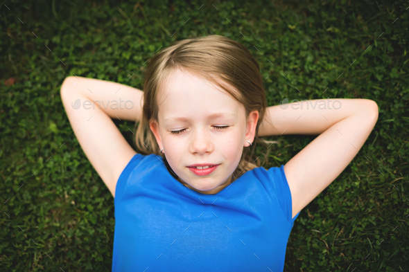 Dreaming girl - Stock Photo - Images