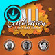 Fall Celebration CD Artwork Template
