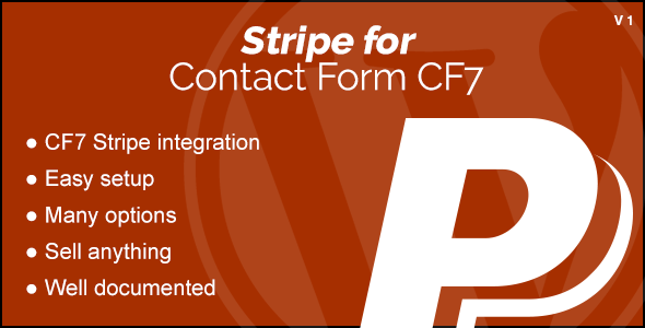 CodeCanyon Stripe Integration for Contact Form CF7 20882783