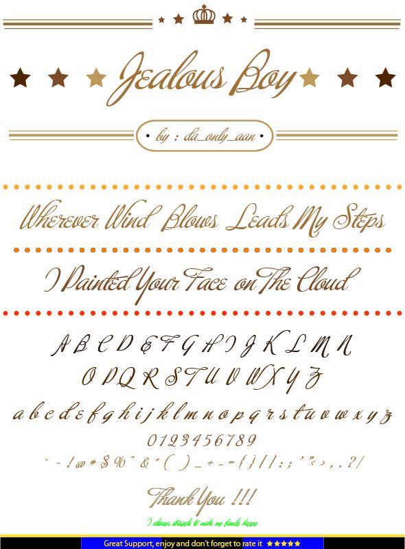 GraphicRiver Jealous Boy 20882931