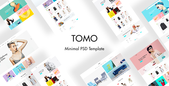 TOMO - Minimal eCommerce Template - Fashion Retail