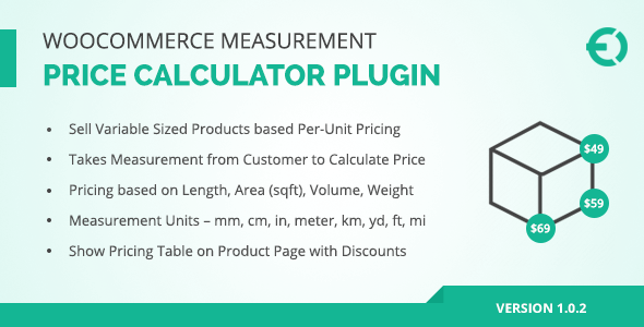 Marvelous WooCommerce Measurement Price Calculator Plugin By Extendons | CodeCanyon