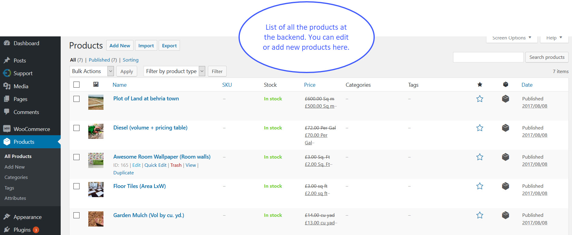 ... Pricing Calculator Extension ...