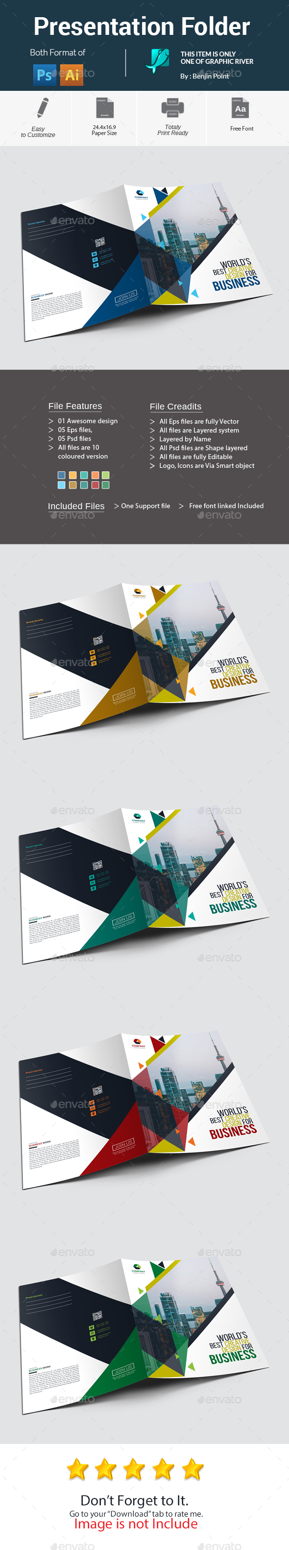 GraphicRiver Presentation Folder 20882974