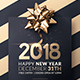 New Year | Invitation Template - GraphicRiver Item for Sale